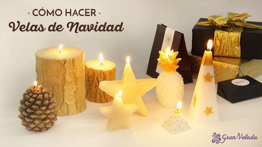 Como hacer velas de navidad aprende con nuestros tutoriales - Como hacer velas flotantes ...
