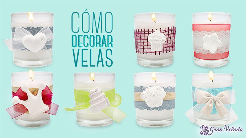 Ideas para aprender como decorar velas paso a paso - Ideas para decorar velas ...