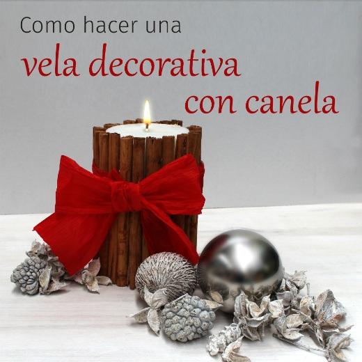 C mo hacer una vela decorativa para centro de mesa - Centros navidenos con velas ...