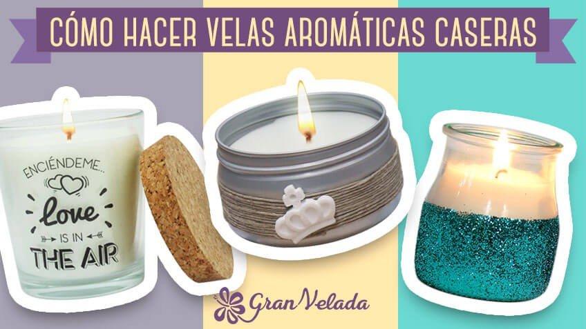Aprende a hacer velas arom ticas caseras paso a paso es - Como hacer ambientadores naturales ...